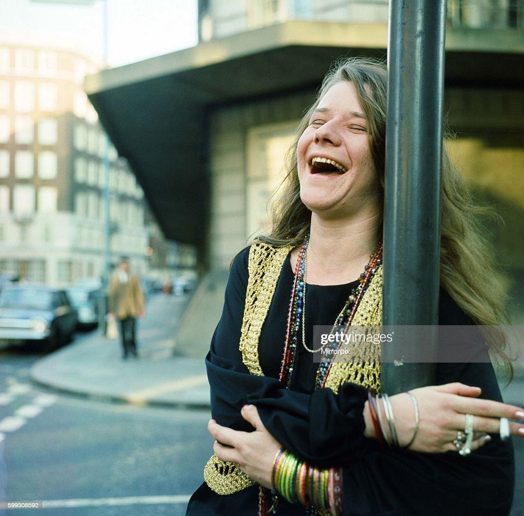 Janis Joplin in London. April 1969.