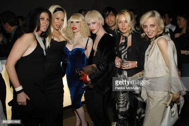 Janis Savitt Dianne Brill Amanda Lepore Richie Rich Nikhil Sharma Elisa Overland Hope Atherton attend Louis Vuitton's 150th Anniversary Party held at...