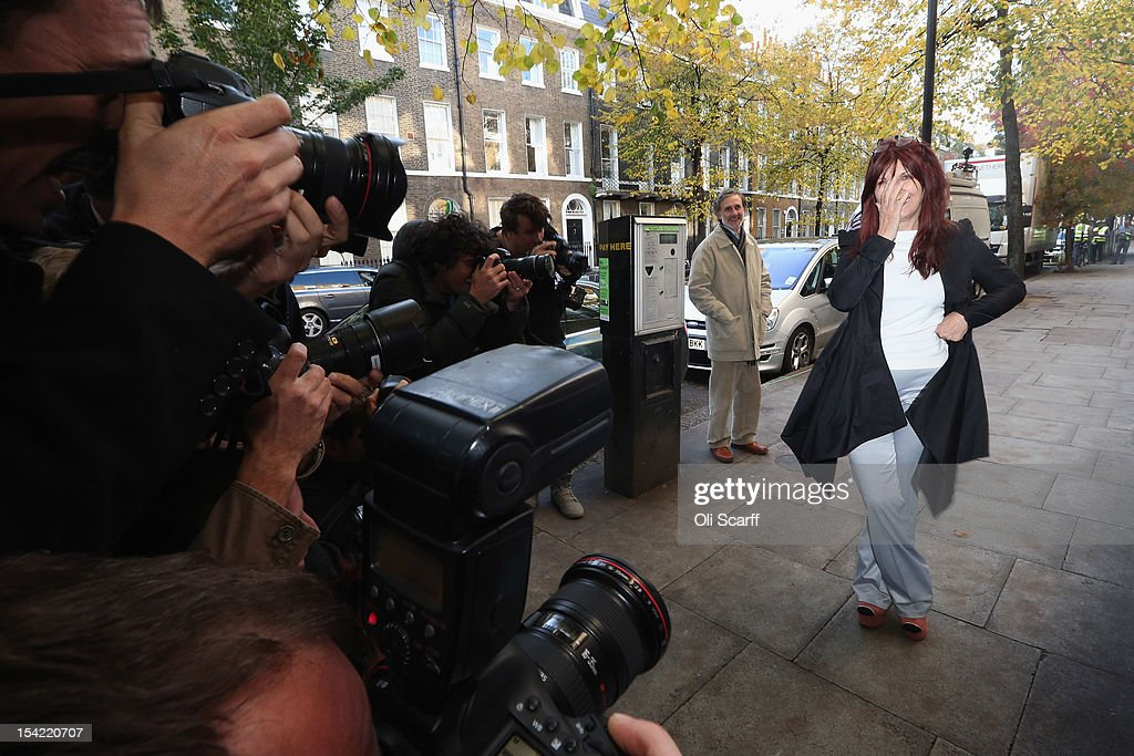 Janis Sharp, the mother of British computer hacker Gary McKinnon, is photographed as she attends a press conference following a decision by Home Secretary Theresa May not to extradite Mr McKinnon to the US on October 16, 2012 in London, England. Mr McKinnon, who sufferers from Asperger''s Syndrome, admits to accessing US Government computers but claims he was looking for evidence of UFOs. Mrs May told MPs in the House of Commons that Mr McKinnon was 'seriously ill' and that enforcing the extradition warrant would be in breech of his human rights.