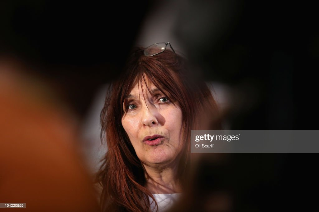 Janis Sharp, the mother of British computer hacker Gary McKinnon, is interviewed after a press conference following a decision by Home Secretary Theresa May not to extradite Mr McKinnon to the US on October 16, 2012 in London, England. Mr McKinnon, who sufferers from Asperger''s Syndrome, admits to accessing US Government computers but claims he was looking for evidence of UFOs. Mrs May told MPs in the House of Commons that Mr McKinnon was 'seriously ill' and that enforcing the extradition warrant would be in breech of his human rights.
