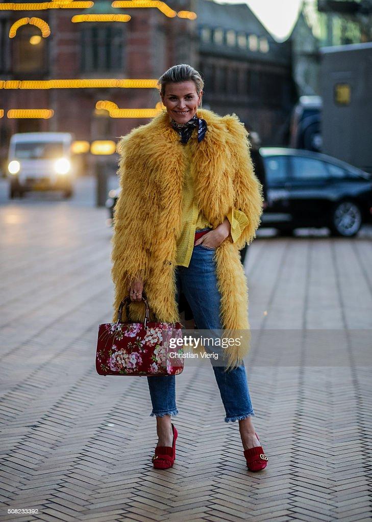 celine black mini luggage - Street Style Day 1 - Copenhagen Fashion Week A