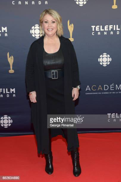 Jann Arden attends 2017 Canadian Screen Awards at Sony Centre For Performing Arts on March 12 2017 in Toronto Canada