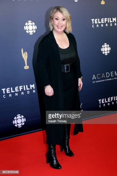 Jann Arden attends the Academy of Canadian Cinema Television's 2017 Canadian Screen Awards at the Sony Centre for Performing Arts on March 12 2017 in...