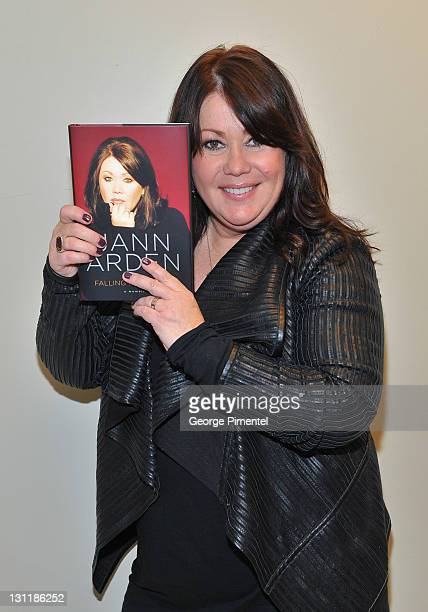 Jann Arden visits Indigo to promote her new album 'Uncover Me 2' and her new biography 'Falling Backwards' at Indigo Manulife Centre on November 1...