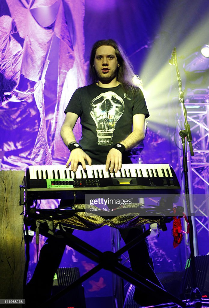 Janne Wirman of Children of Bodom performs at The Forum on April 9 2011 in London England