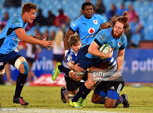 Jannes Kirsten of the Blue Bulls during the Currie Cup match between Vodacom Blue Bulls and DHL Western Province at Loftus Versveld on August 05 2016...