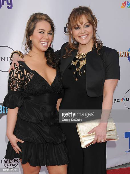 Janney 'Chiquis' Marin and Jenni Rivera arrive at The Cable Show 2010 to Feature An Evening with NBC at Universal Studios Hollywood on May 12 2010 in...