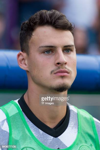 Janni Serra of Germany looks on during the U21 UEFA 2018 EM Qualifying match between Germany and Kosovo at the Stadion Bremer Bruecken in Osnabrueck...