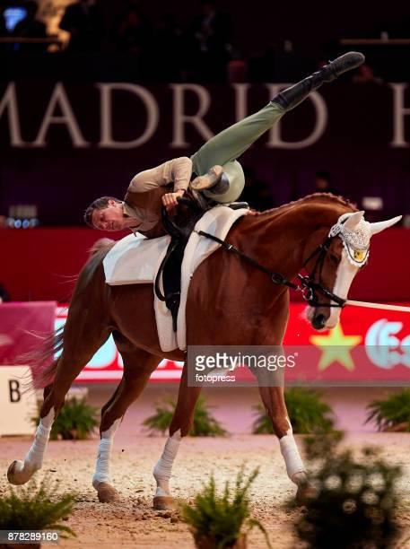 Jannik Heiland attends the Madrid Horse Week 2017 at IFEMA on November 23 2017 in Madrid Spain