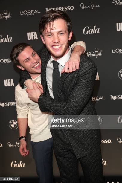Jannik Schuemann and Jannis Niewoehner during the Berlin Opening Night by GALA and UFA Fiction at hotel 'The Stue' on February 9 2017 in Berlin...