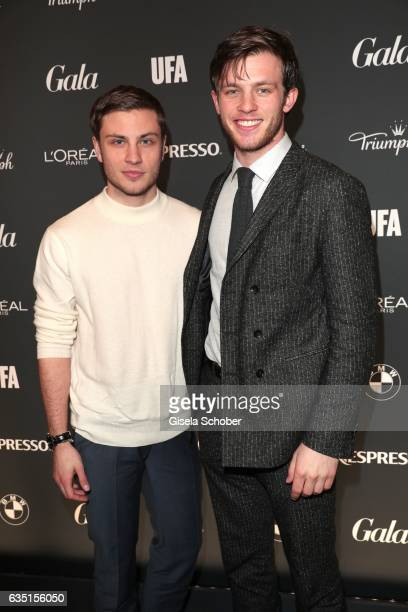Jannik Schuemann and Jannis Niewoehner during the Berlin Opening Night by GALA and UFA Fiction on February 9 2017 in Berlin Germany