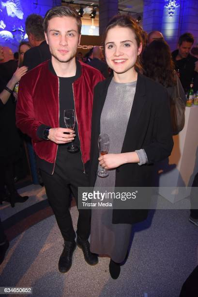 Jannik Schuemann and Mala Emde attend the Blue Hour Reception hosted by ARD during the 67th Berlinale International Film Festival Berlin on February...