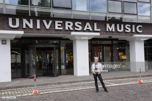 Jannine Weigel the new protege of Phill Hallenberger seen Berlin on May 24 2017 in Berlin Germany