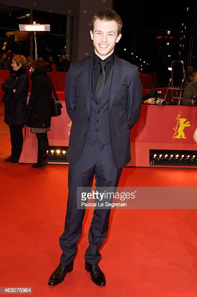 Jannis Niewoehner attends the 'As We Were Dreaming' premiere during the 65th Berlinale International Film Festival at Berlinale Palace on February 9...