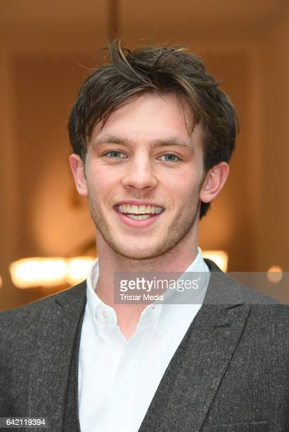 Jannis Niewoehner attends the FFF Reception 2017 during the 67th Berlinale International Film Festival on February 16 2017 in Berlin Germany