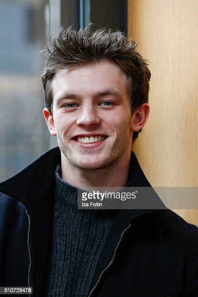 Jannis Niewoehner attends the Hessian Reception 2016 on February 16 2016 in Berlin Germany