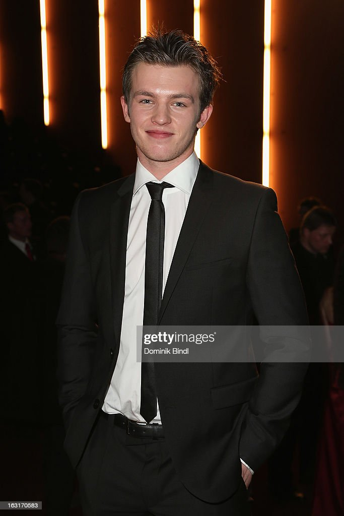 Jannis Niewoehner attends the 'Rubinrot' premiere on March 5, 2013 in Munich, Germany.