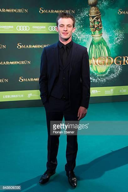 Jannis Niewoehner attends the 'Smaragdgruen' German Premiere on June 28 2016 in Cologne Germany