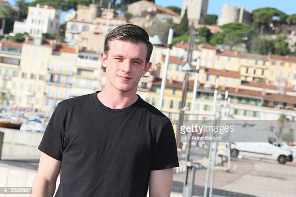 Jannis Niewohner attends Photocall for 'Maximilian and Marie de Bourgogne' as part of MIPCOM at Palais des Festivals on October 18 2016 in Cannes...