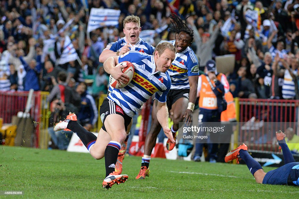 Jano Vermaak of Western Province during the Absa Currie Cup match between DHL Western Province and Vodacom Blue Bulls at DHL Newlands Stadium on...