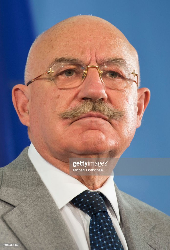 <a gi-track='captionPersonalityLinkClicked' href=/galleries/search?phrase=Janos+Martonyi&family=editorial&specificpeople=2589439 ng-click='$event.stopPropagation()'>Janos Martonyi</a>, Foreign Minister of Hungary, during a press conference in foreign ministry on February 05, 2014 in Berlin, Germany.