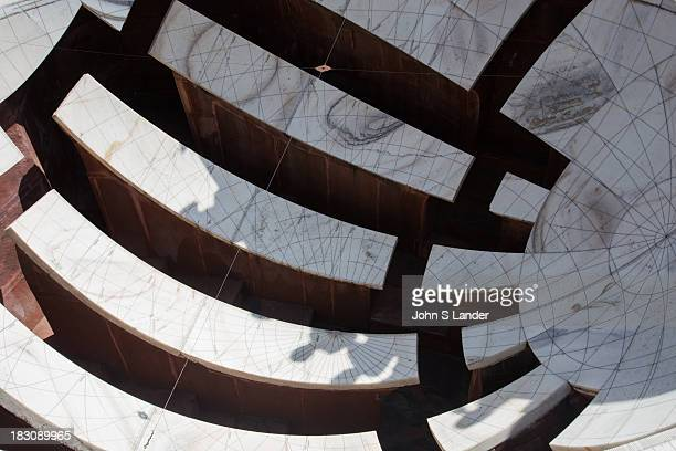 Jantar Mantar is an array of Indian astronomical instruments There are several of these in India though the Jaipur observatory is the largest and...