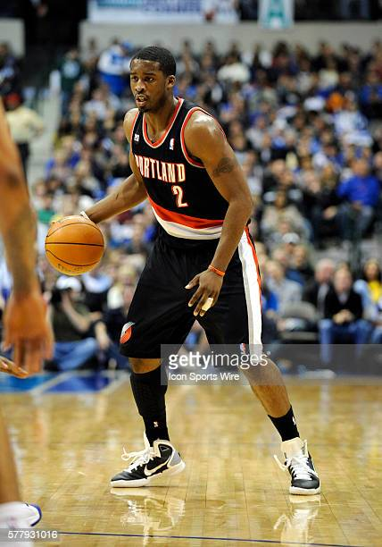 Portland rookie guard Wesley Matthews in an NBA game between the Portland Trailblazers and the Dallas Mavericks at the American Airlines Center in...