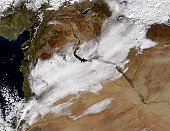 January 1, 2009 - Snow in Syria.