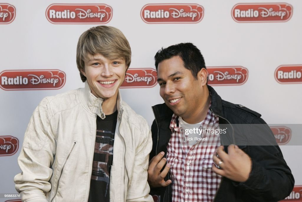 DISNEY - January 11, 2010 - Sterling Knight, star of the Disney Channel Original Movie 'StarStruck,' joined Radio Disney's Ernie D in studio to talk about the movie (premiering February 14) and the Planet Premiere of his single 'StarStruck' from the movie's soundtrack.