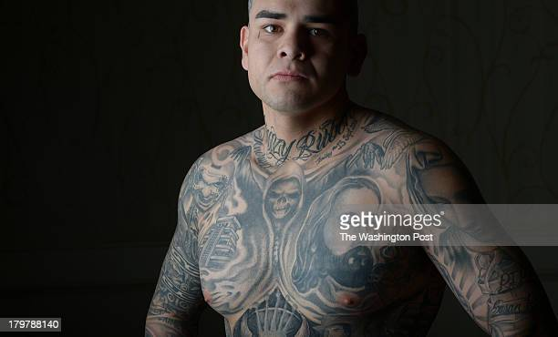 Ruben contreras stock photos and pictures getty images for Tattoo convention los angeles