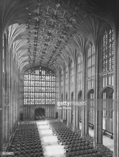 St George's Chapel in Windsor Castle Berkshire