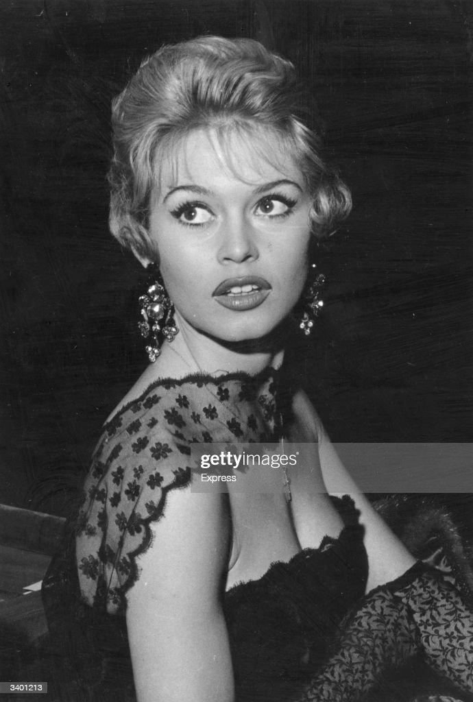 French film star and sexsymbol Brigitte Bardot enjoys the London night life