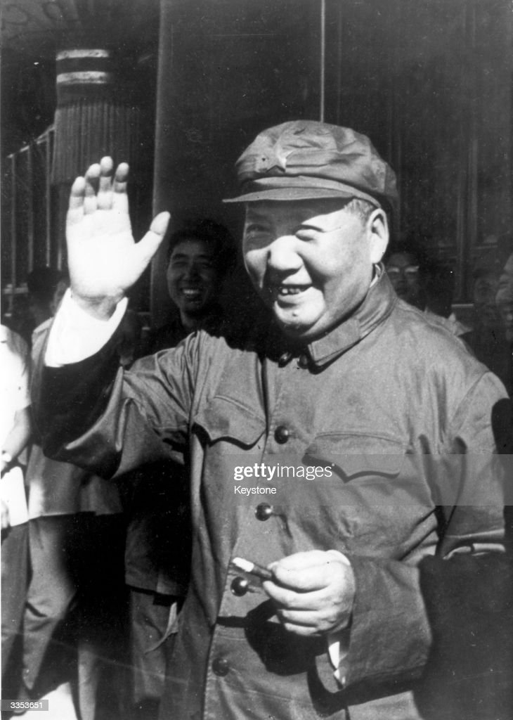 Chinese communist leader Mao Tse-tung (1893 - 1976).