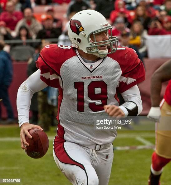 Arizona Cardinals quarterback John Skelton on Sunday January 2 2011 at Candlestick Park in San Francisco California The 49ers defeated the Cardinals...