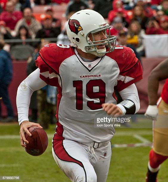 Arizona Cardinals quarterback John Skelton on Sunday January 2 2011 at Candlestick Park in San Francisco California The 49ers defeated the Cardinals...
