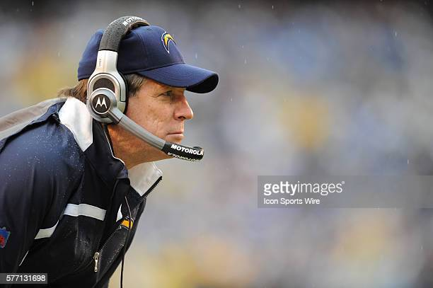 San Diego Chargers head coach Norv Turner during a game against the Tennessee Titans in San Diego CA