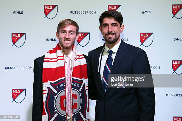 Daniel Johnson was selected overall by the Chicago Fire With head coach Veljko Paunovic The 2017 MLS SuperDraft was held at The Los Angeles...