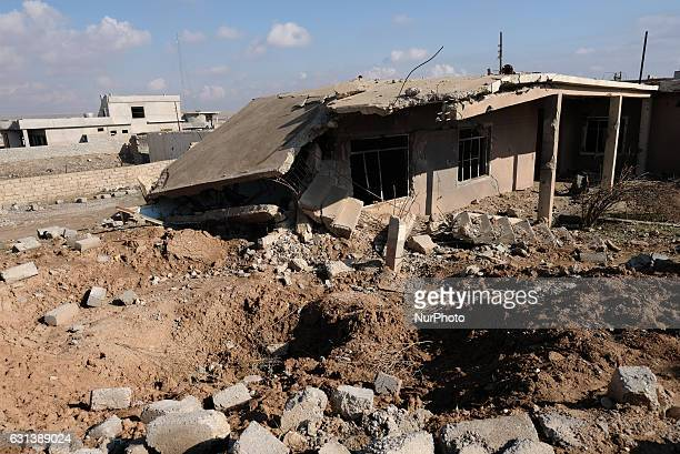 January 2017 Wardak Iraq Destroyed house The Kakai Kurds are returning to their homes as Mosul offensive continiues The Kakai Kurds are one of...