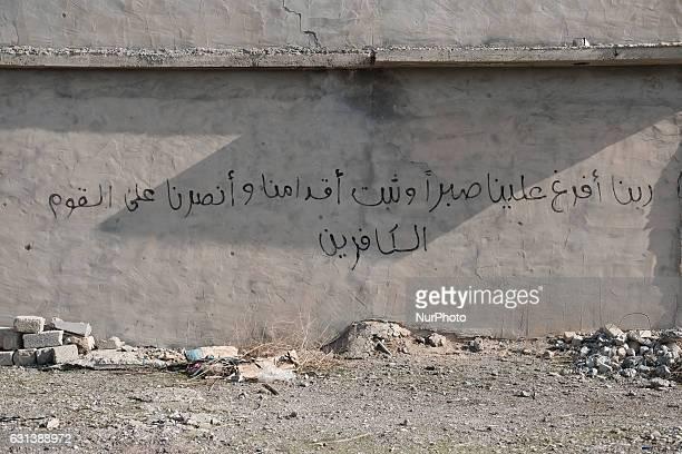 January 2017 Wardak Iraq ISIL graffiti on Kakai house The Kakai Kurds are returning to their homes as Mosul offensive continiues The Kakai Kurds are...