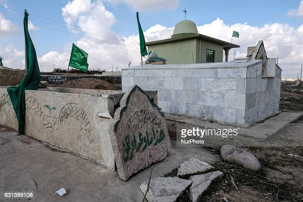 January 2017 Wardak Iraq Temple called Mazar or Ziyaret destroyed by ISIL The Kakai Kurds are returning to their homes as Mosul offensive continiues...