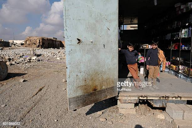 January 2017 Wardak Iraq The Kakai Kurds are returning to their homes as Mosul offensive continiues The Kakai Kurds are one of several multiethnic...