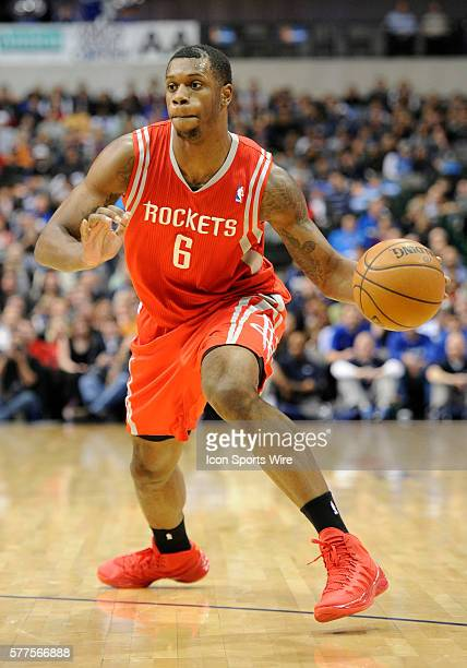 Houston Rockets power forward Terrence Jones during an NBA game between the Houston Rockets and the Dallas Mavericks at the American Airlines Center...