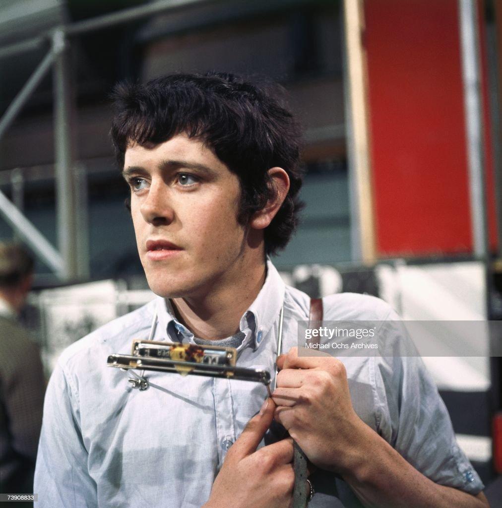 January 29, 1965, England, London, Donovan, Ready, Steady, Go TV show.