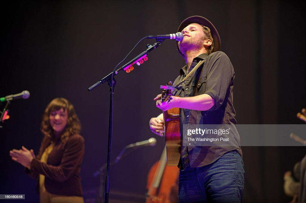 WASHINGTON, DC - January 30th, 2013 - Hot on the heels of their performance on Saturday Night Live, The Lumineers perform at a sold out DAR Constitution Hall on the day their album moves up to #2 on the Billboard 200 album chart.