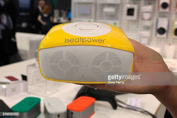 January 9 Las VegasNevada The Beatpower HiFi Bluetooth portable speaker shown during the 2013 International CES at the Las Vegas Convention Center...