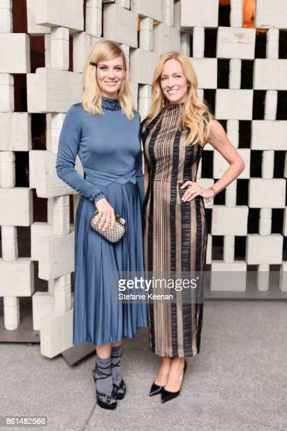 January Jones and guest at the Hammer Museum 15th Annual Gala in the Garden with Generous Support from Bottega Veneta on October 14 2017 in Los...