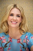 January Jones at the 'Mad Men' Press Conference at the Four Seasons Hotel on April 4 2014 in Beverly Hills California