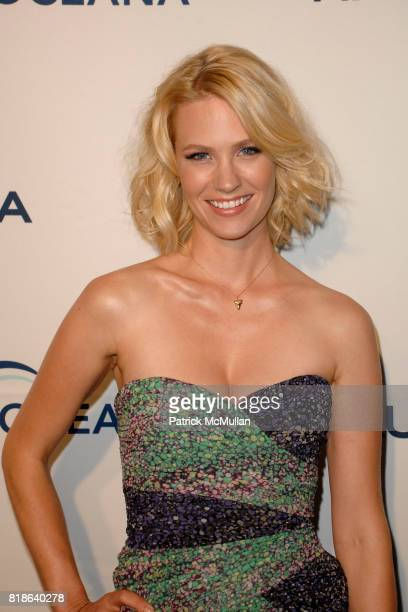 January Jones attends GQ World Oceans Day Party at Sunset Tower Hotel on June 8 2010 in West Hollywood California