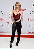January Jones attends the 2015 CFDA Fashion Awards at Alice Tully Hall at Lincoln Center on June 1 2015 in New York City