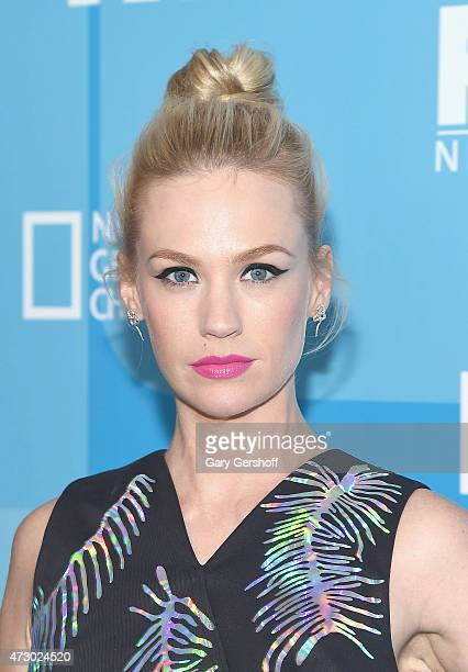 January Jones attends the 2015 FOX Programming Presentation at Wollman Rink Central Park on May 11 2015 in New York City